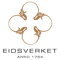 Eidsverkets logo og profilelementer